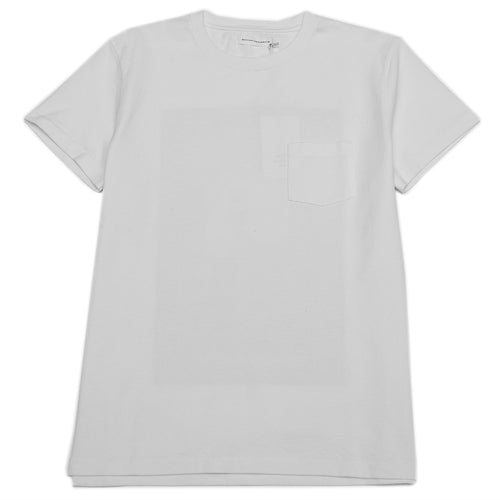 Schnayderman's T-Shirt Jersey Print White at shoplostfound, front