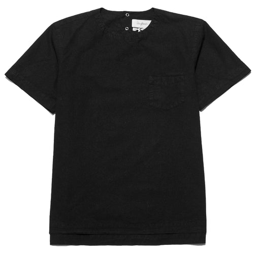 Schnayderman's T-Shirt Poplin One Black at shoplostfound, front