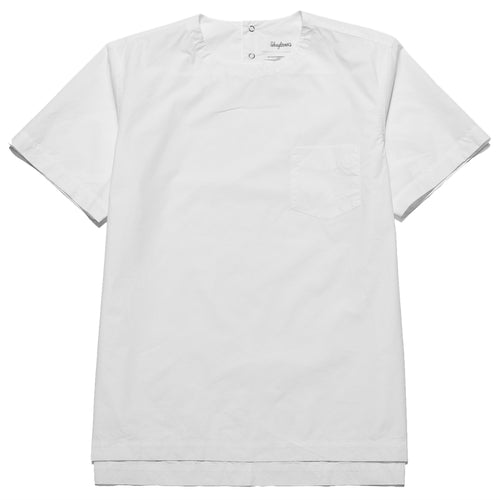 Schnayderman's T-Shirt Poplin One White at shoplostfound, front