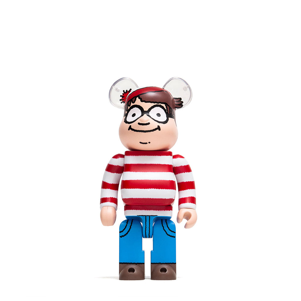 Medicom Toy x Where's Waldo 400% Bearbrick at shoplostfound, front