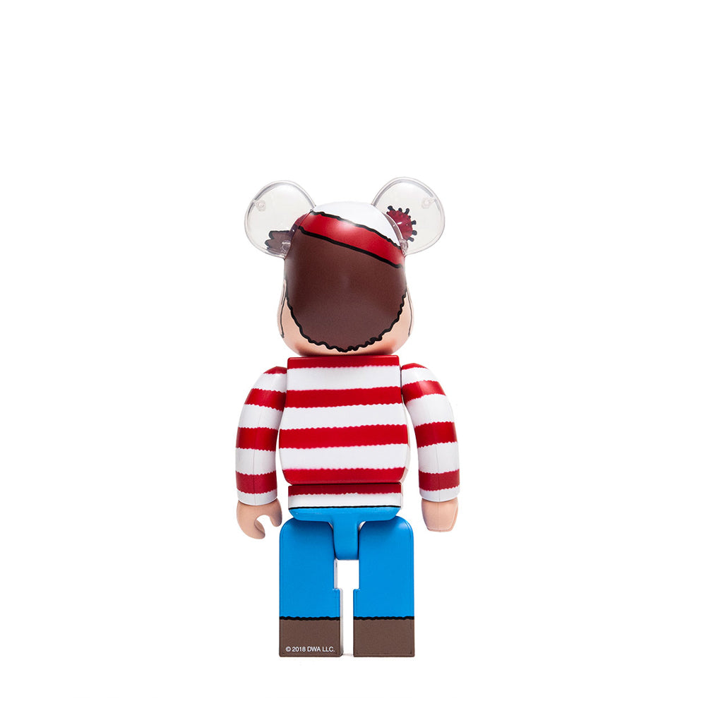 Medicom Toy x Where's Waldo 400% Bearbrick at shoplostfound, back