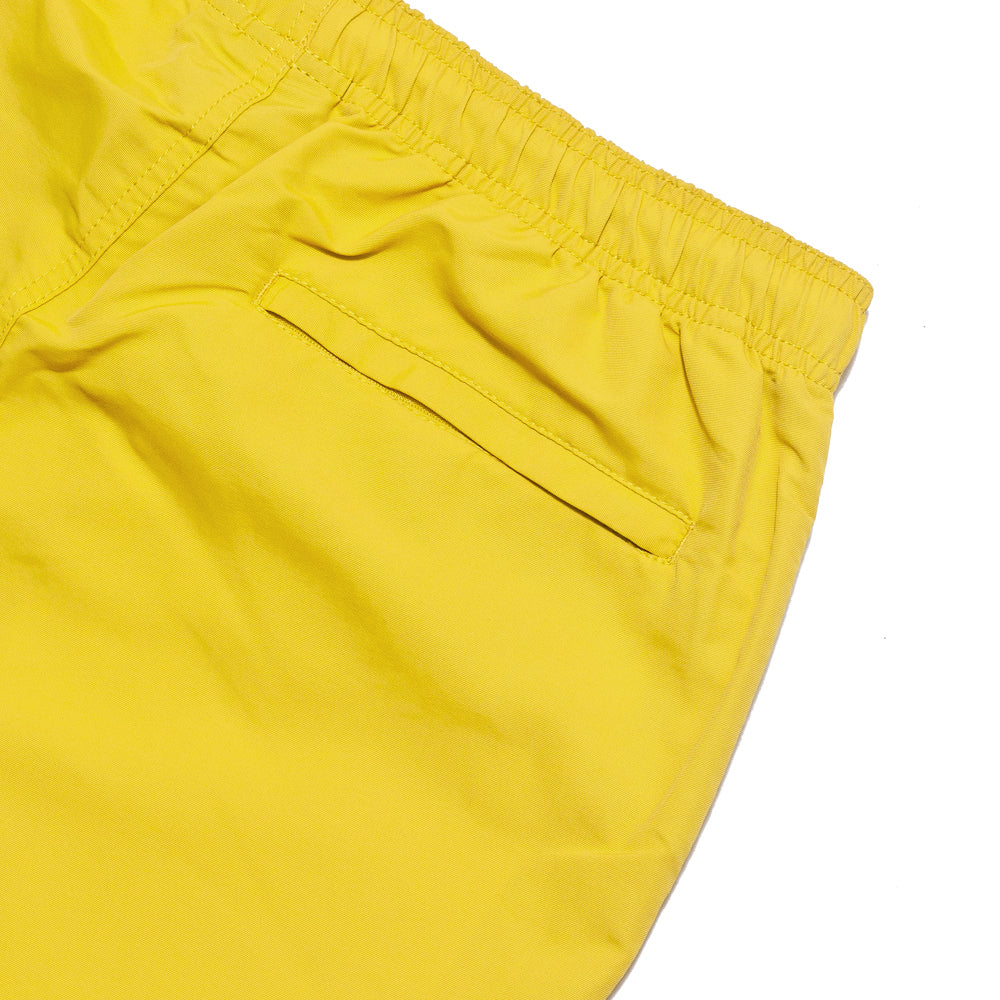 Stüssy Stock Water Short Yellow at shoplostfound, detail