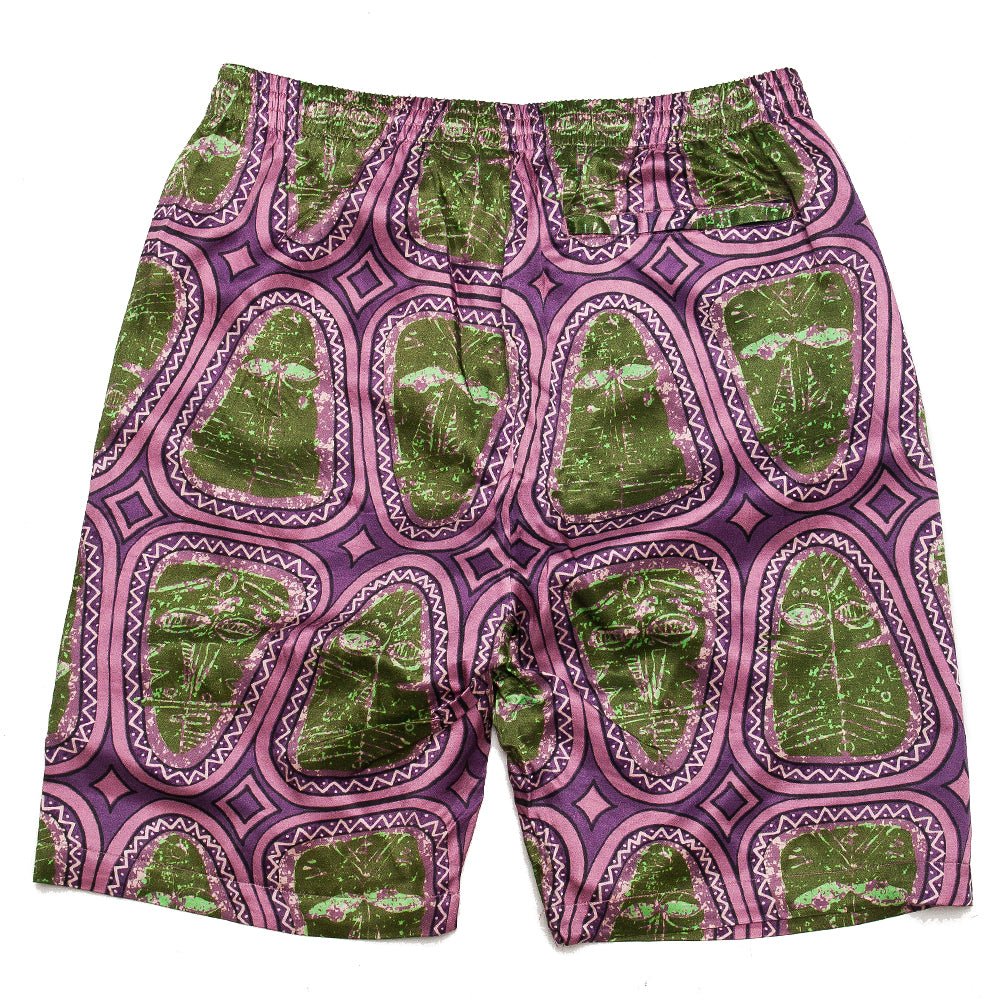 Stüssy Mask Short Pink at shoplostfound, back