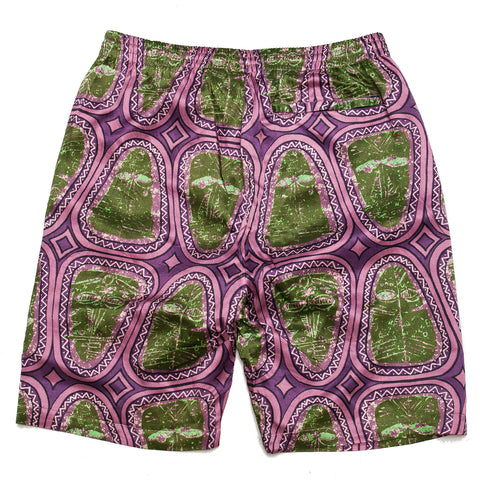 Stüssy Mask Short Pink at shoplostfound, front