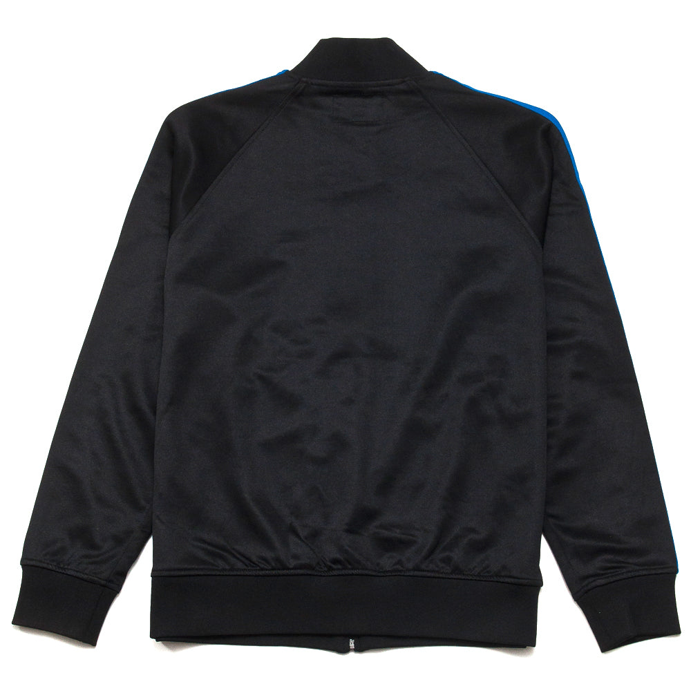 Stüssy Poly Track Jacket Black at shoplostfound, back