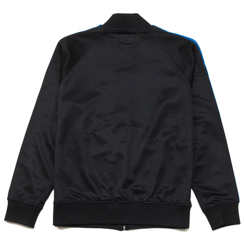 Stüssy Poly Track Jacket Black at shoplostfound, front