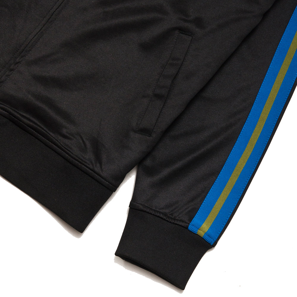 Stüssy Poly Track Jacket Black at shoplostfound, cuff