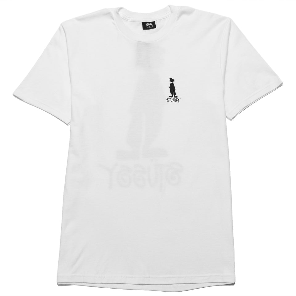 Stüssy Raggamon Tee White at shoplostfound, front