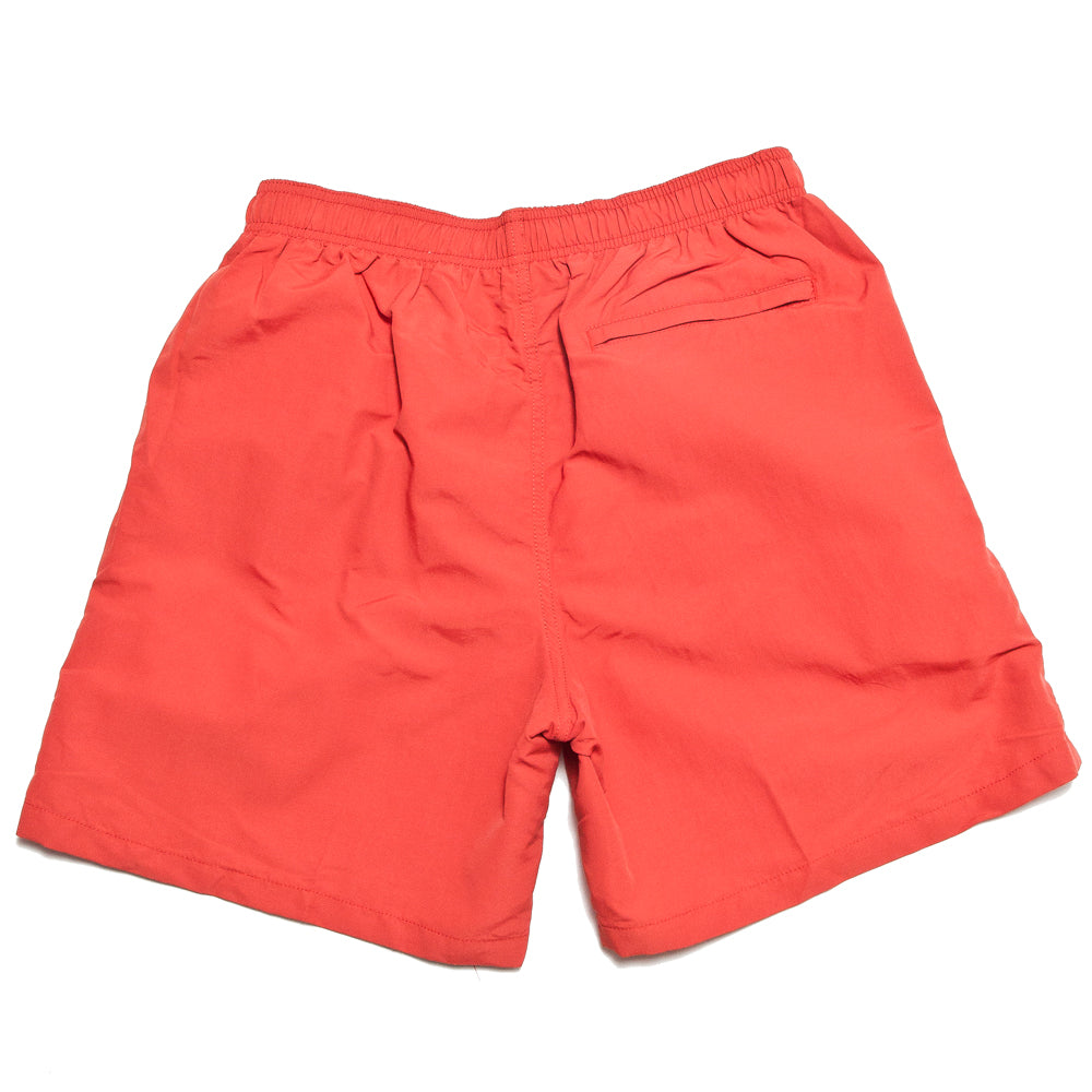 Stüssy Stock Water Short Bright Red at shoplostfound, back