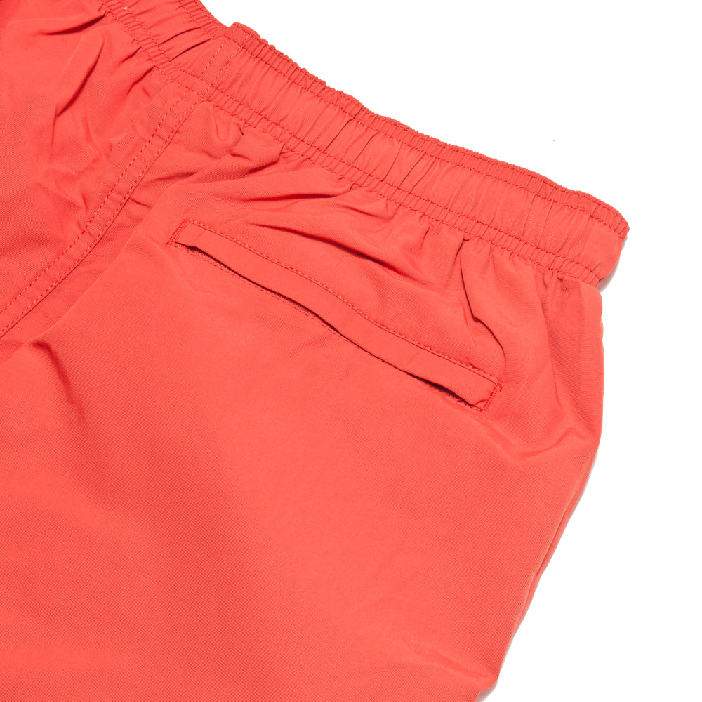 Stüssy Stock Water Short Bright Red at shoplostfound, details