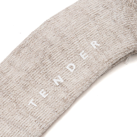 Tender Hand Linked Cotton/Linen Socks Unborn at shoplostfound, front