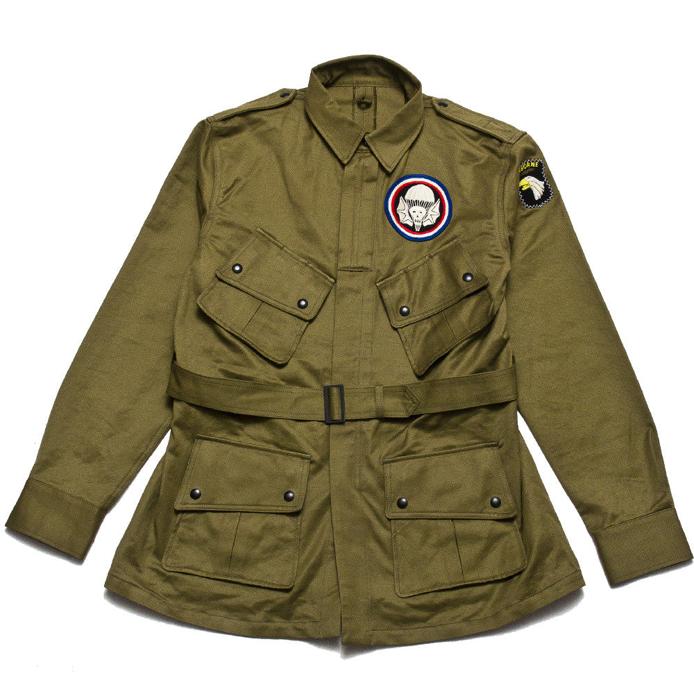 The Real McCoy's 506th P.I.R Jump Jacket MJ17005 at shoplostfound, front