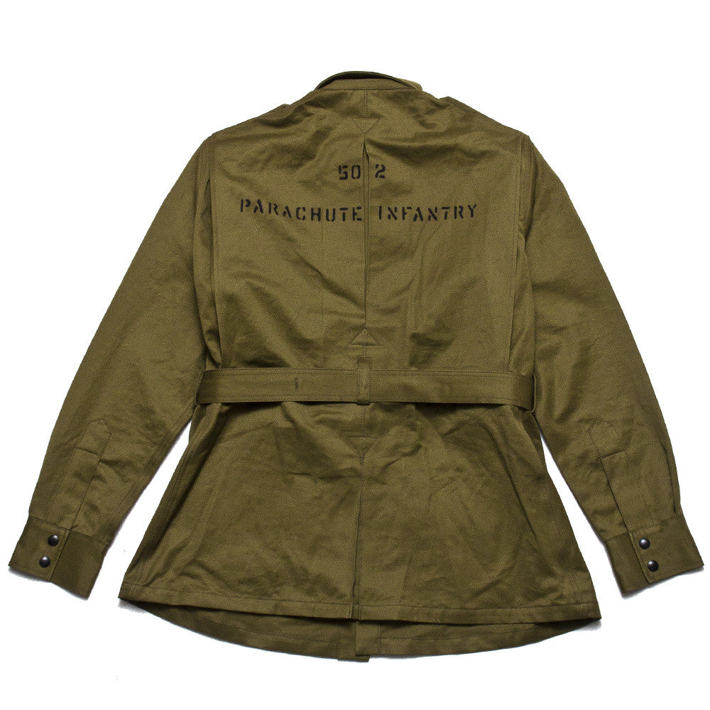 The Real McCoy's 506th P.I.R Jump Jacket MJ17005 at shoplostfound, back