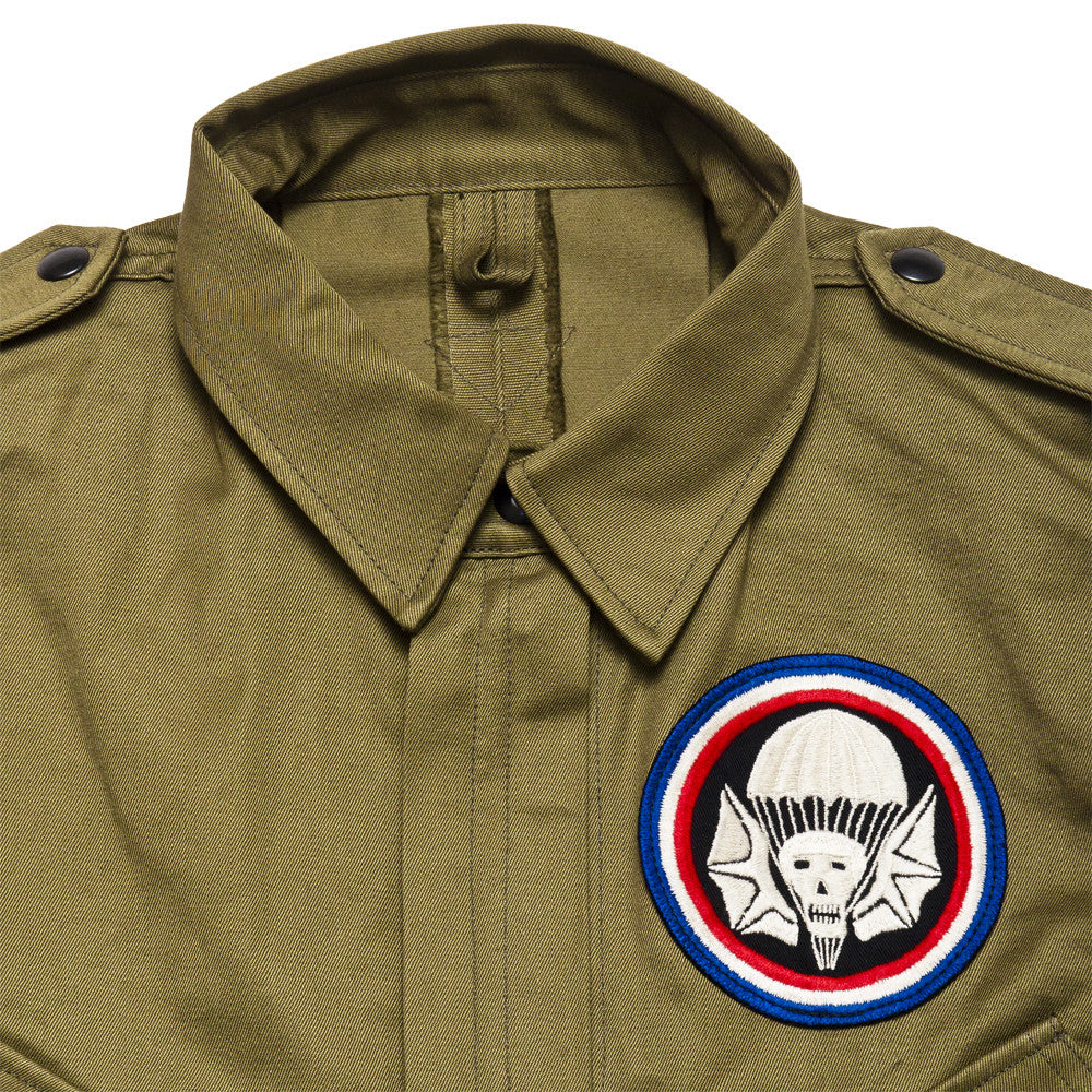 The Real McCoy's 506th P.I.R Jump Jacket MJ17005 at shoplostfound, neck