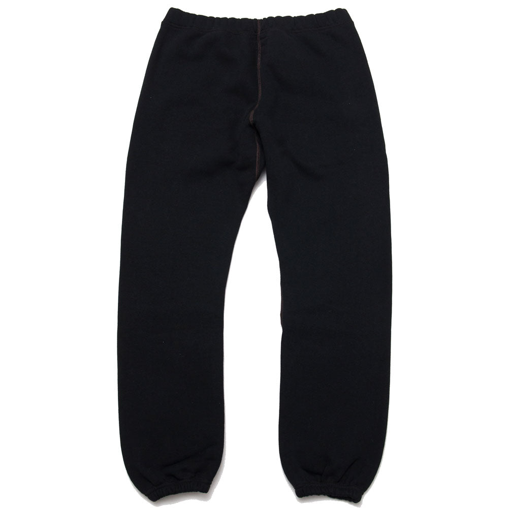 The Real McCoy's 10 oz. Loopwheel Sweatpants Black MC18118 at shoplostfound, back