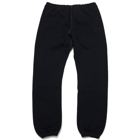 The Real McCoy's 10 oz. Loopwheel Sweatpants Black MC18118 at shoplostfound, front