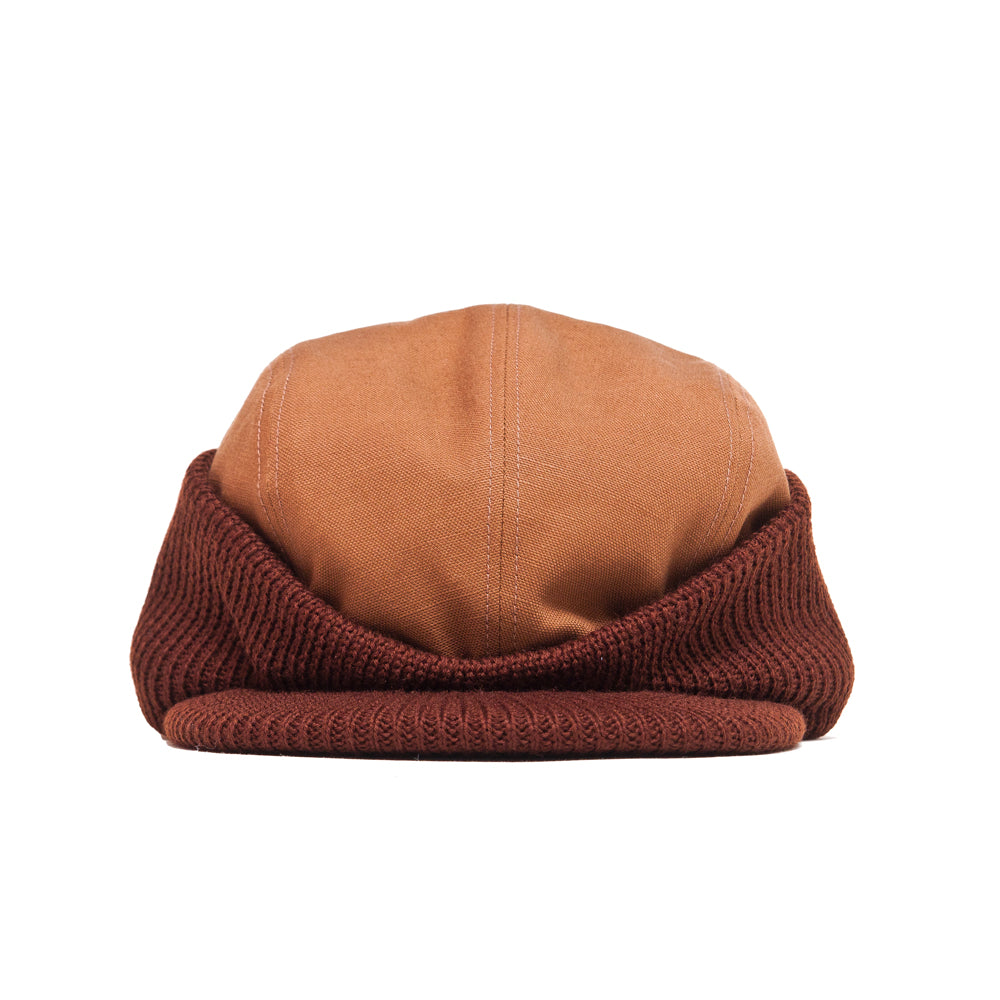 The Real McCoy's 8HU Blizzard Cap Brown at shoplostfound, front