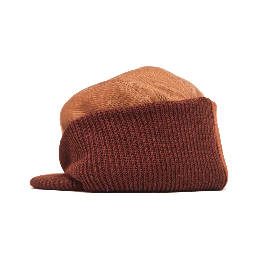 The Real McCoy's 8HU Blizzard Cap Brown at shoplostfound, back