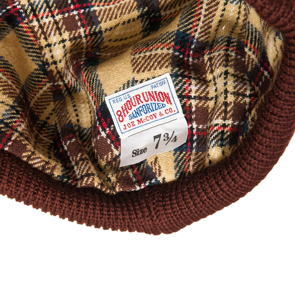 The Real McCoy's 8HU Blizzard Cap Brown at shoplostfound, tag