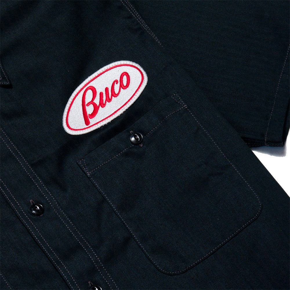 The Real McCoy's BS17001 Short Sleeve BUCO Club Shirt/Milwaukee Pirates at shoplostfound, buco