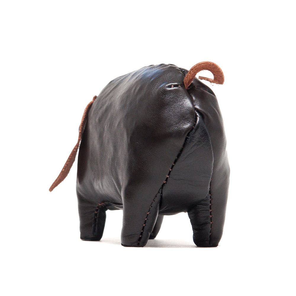 The Real McCoy's Handcrafted Horsehide Small Pig at shoplostfound, back