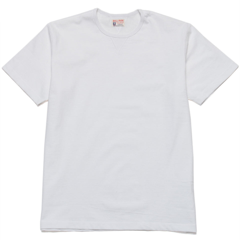 The Real McCoy's Joe McCoy Gusset Athletic Tee White at shoplostfound, front