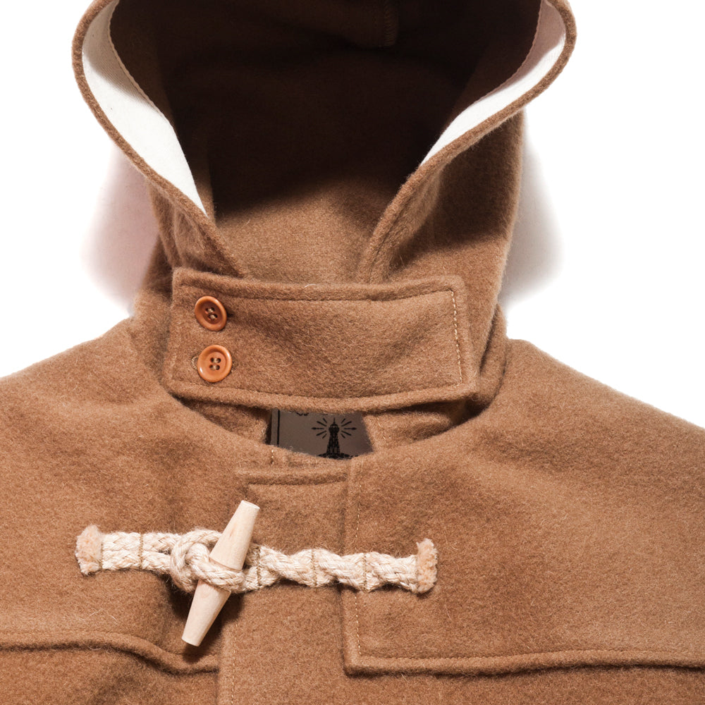 The Real McCoy's Lighthouse Duffle Coat at shoplostfound, neck