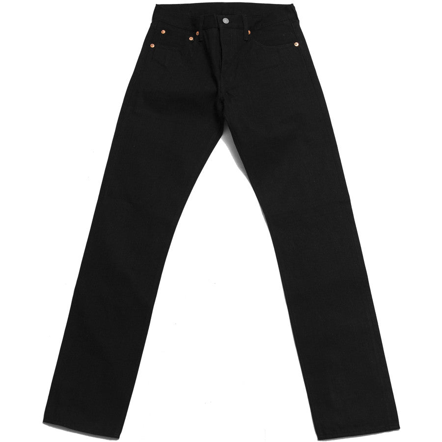 The Real McCoy's Joe McCoy Lot.991BK Black Denim at shoplostfound in Toronto, front