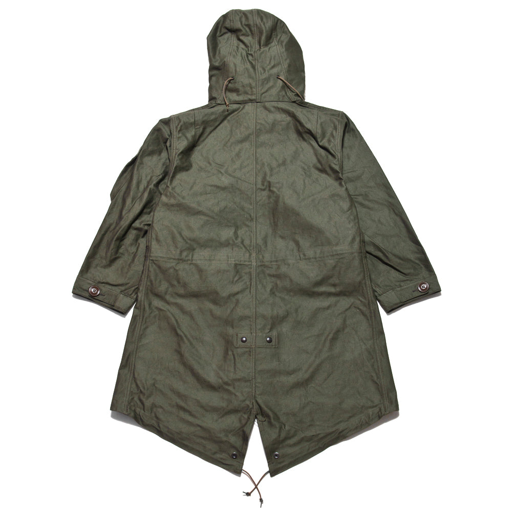 The Real McCoy's M-1948 Fishtail Mod Parka at shoplostfound, back