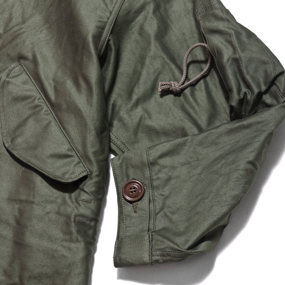 The Real McCoy's M-1948 Fishtail Mod Parka at shoplostfound, cuff