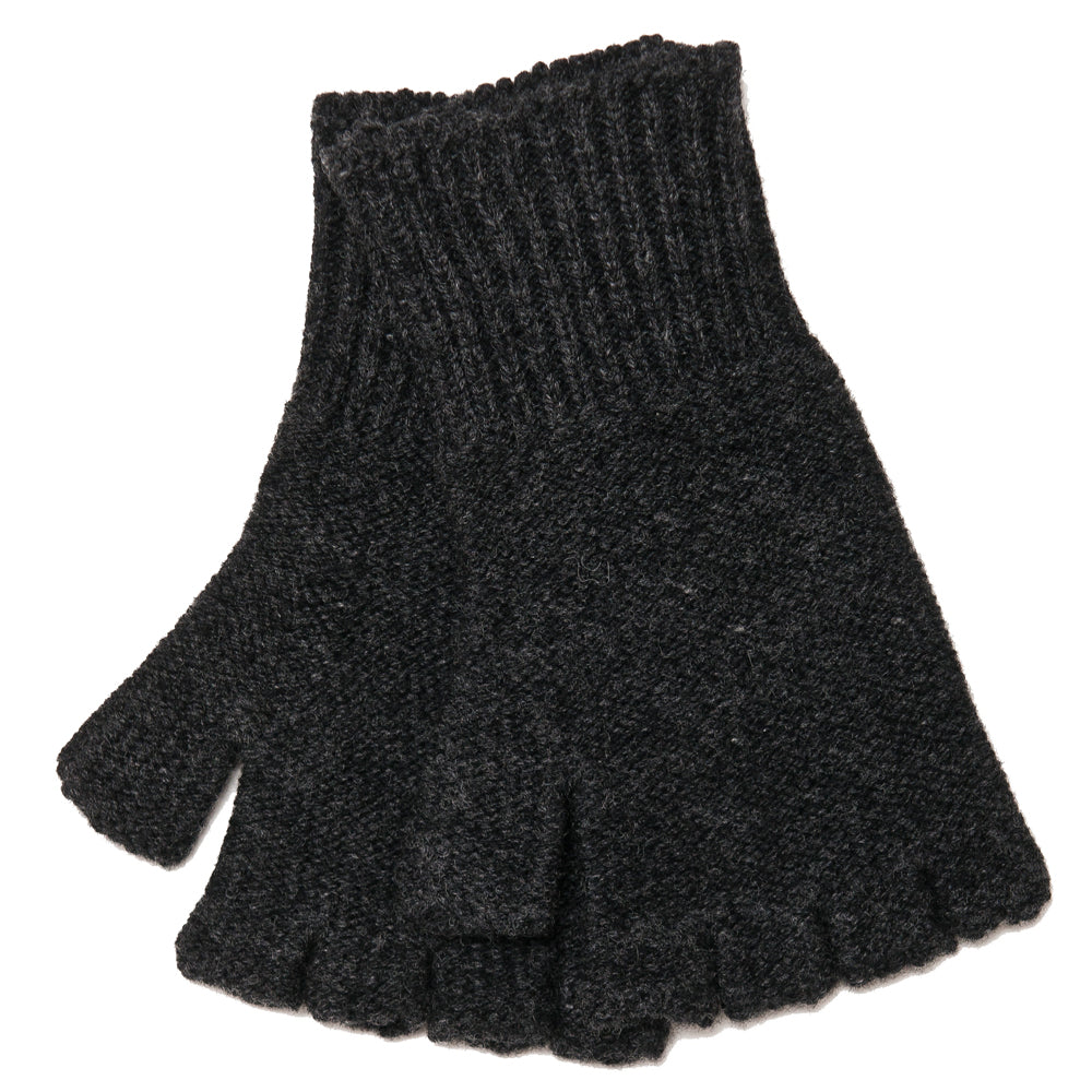 The Real McCoy's MA18105 Fingerless Knit Glove Chale at shoplostfound, front