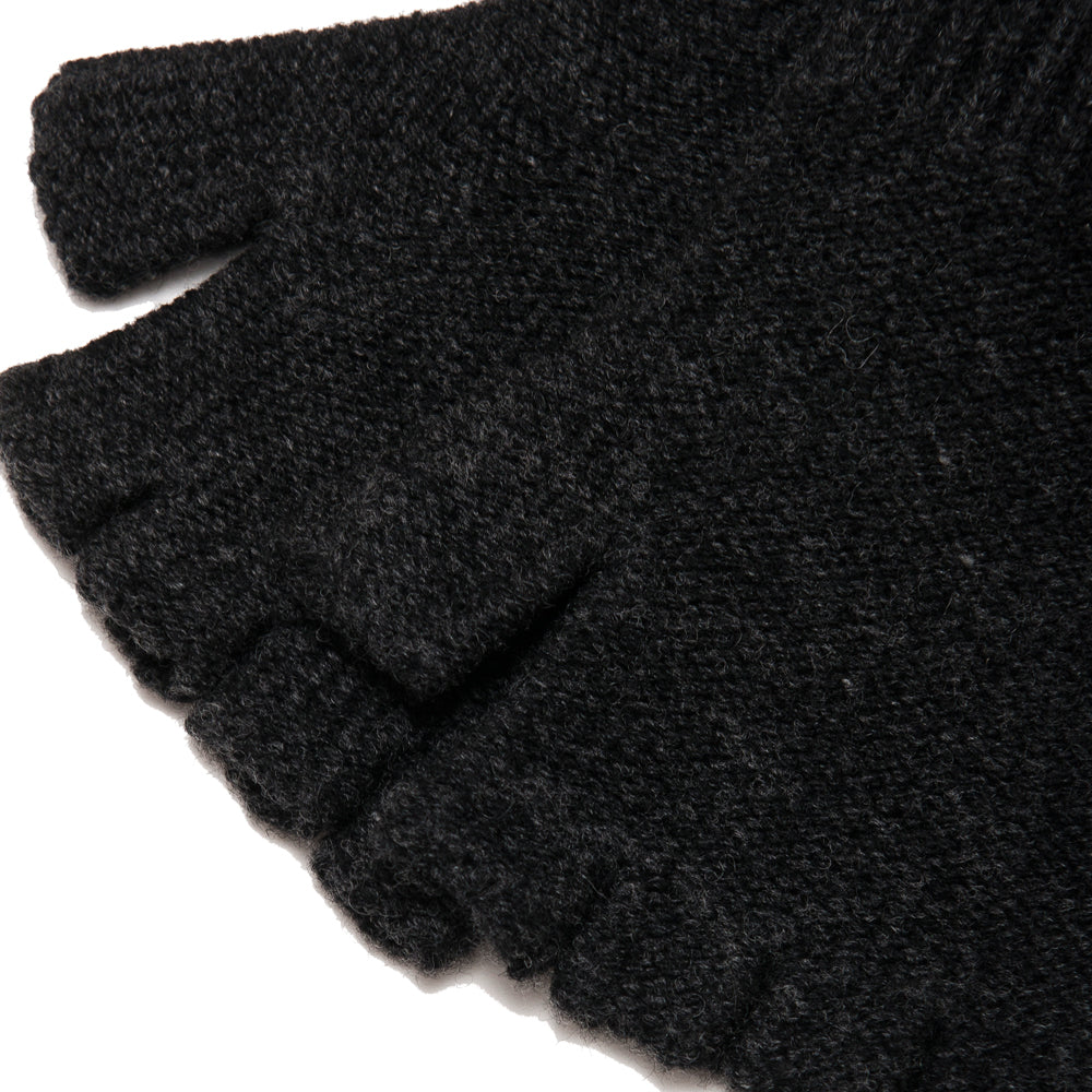 The Real McCoy's MA18105 Fingerless Knit Glove Chale at shoplostfound, detial
