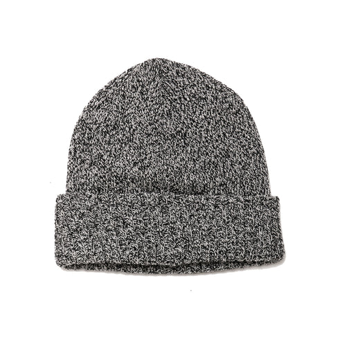 The Real McCoy's MA19108 Wool Logger Knit Cap Grey at shoplostfound, front