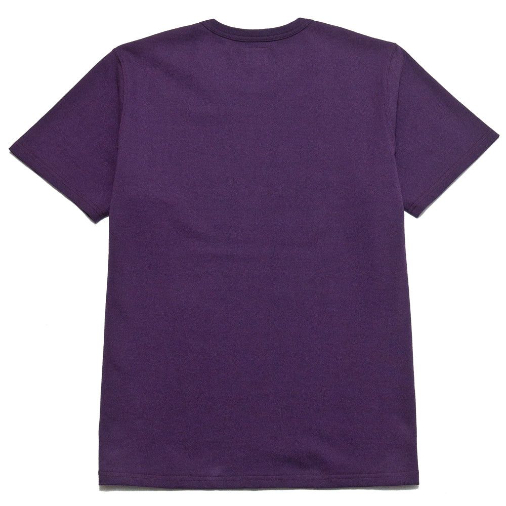 The Real McCoy's Military Tee NYU AA Purple at shoplostfound, back