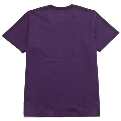 The Real McCoy's Military Tee NYU AA Purple at shoplostfound, front