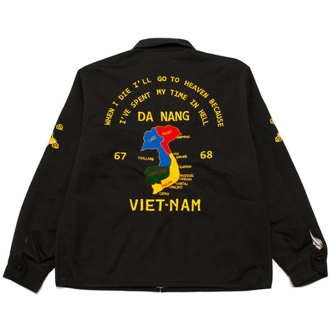 The Real McCoy's MJ20009 Viet Nam Jacket / Da Nang Black shoplostfound front