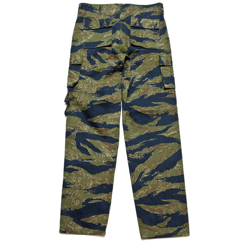 The Real McCoy's MP19003 Tiger Camouflage Trousers / Purple Fade at shoplostfound, front