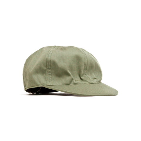 The Real McCoy's N-3 Utility Cap Olive at shoplostfound, front