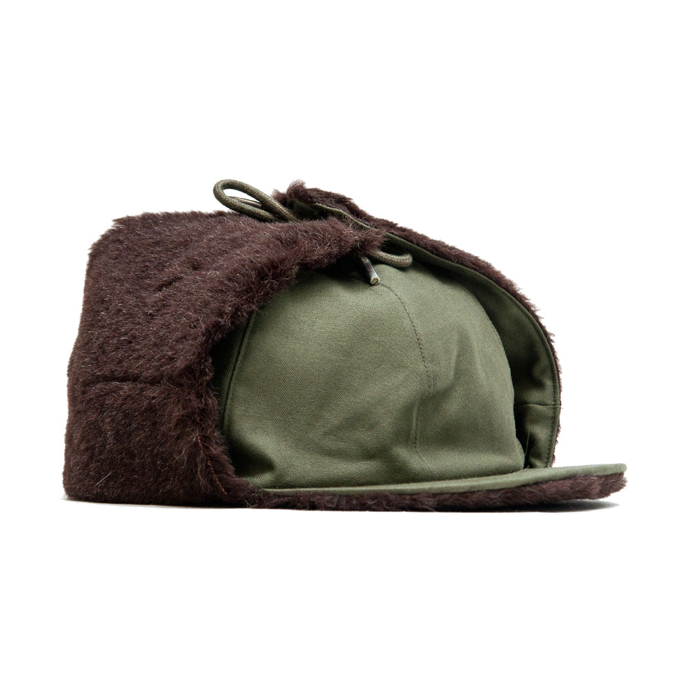 The Real McCoy's Pile Field Cap Olive at shoplostfound, 45