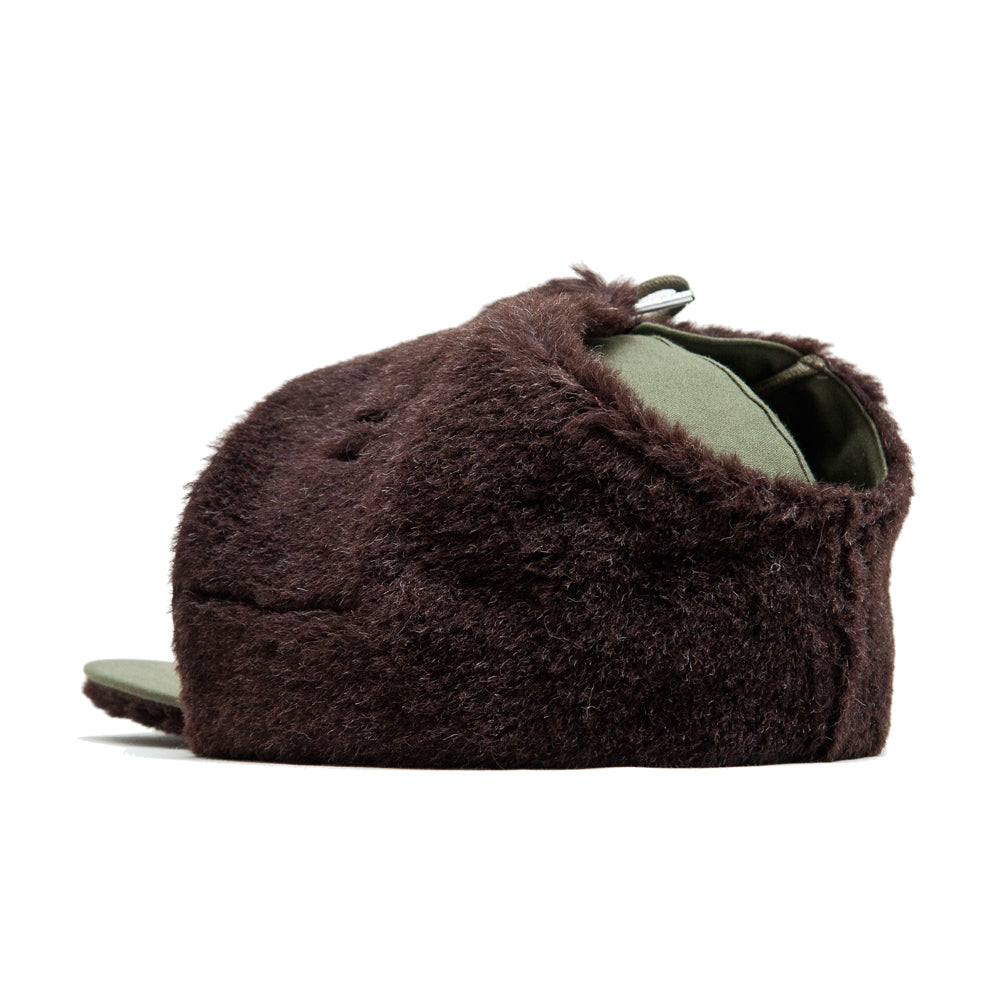 The Real McCoy's Pile Field Cap Olive at shoplostfound, back