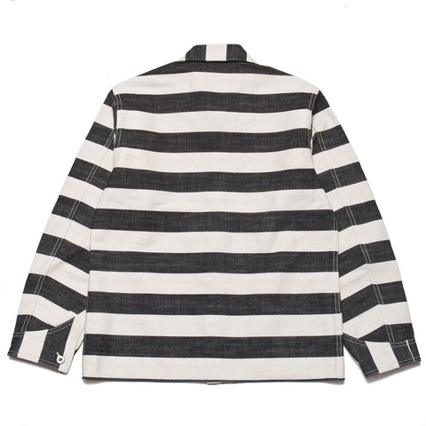 The Real McCoy's Prisoner Jacket White/Black at shoplostfound, front