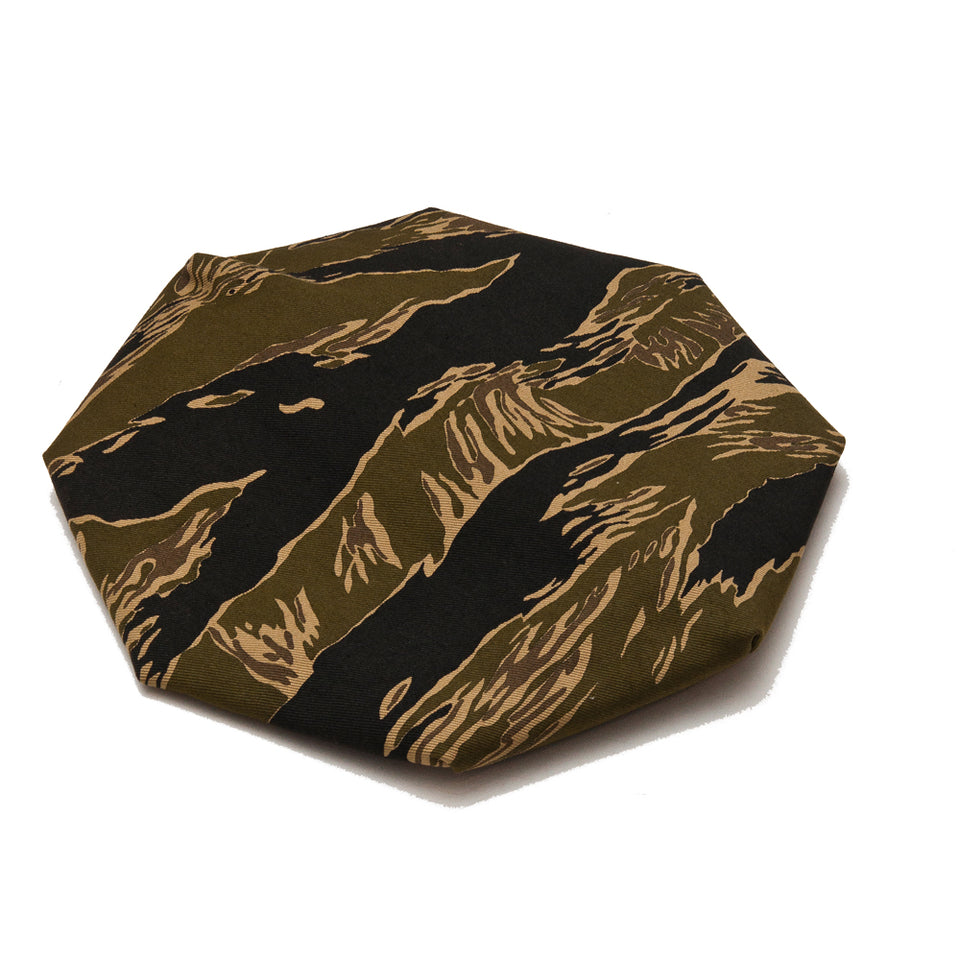 The Real McCoy's Tiger Camouflage Beret John Wayne MA18003 at shoplostfound, front