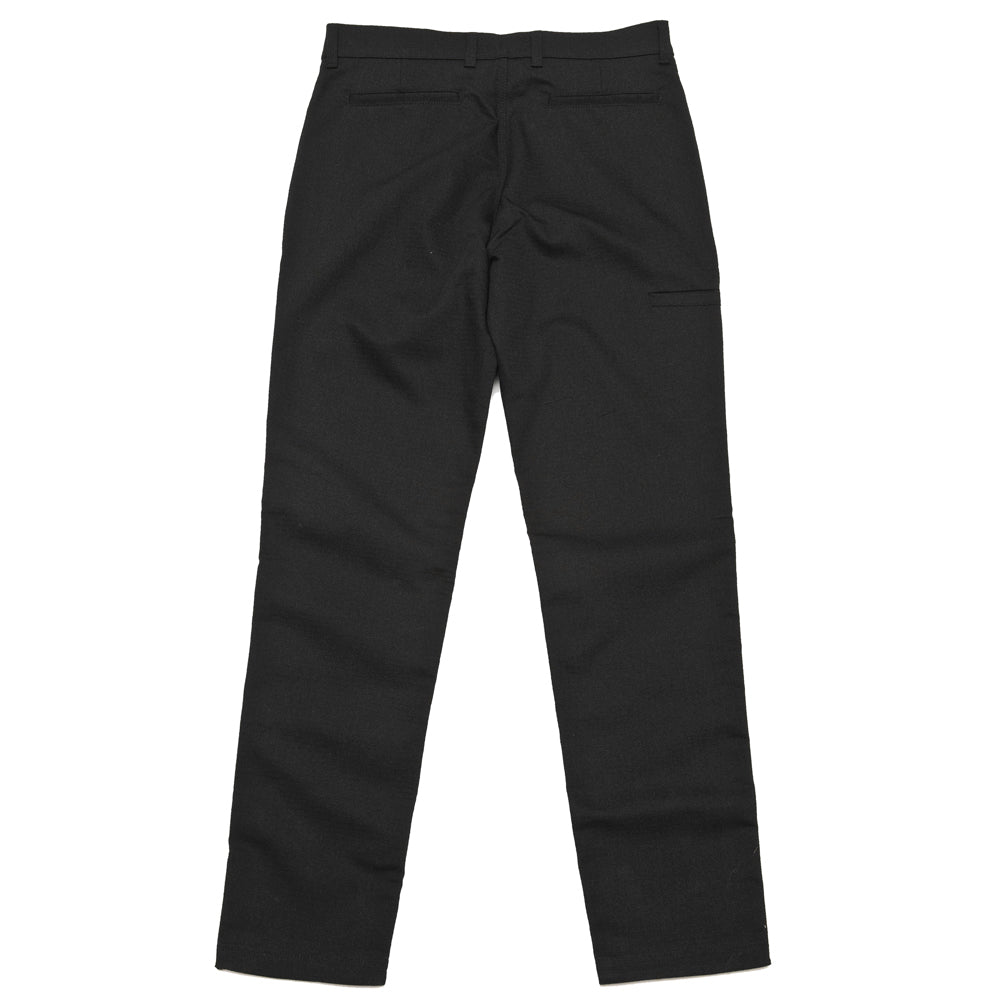 uniforme inc. Work Pant Black at shoplostfound, back