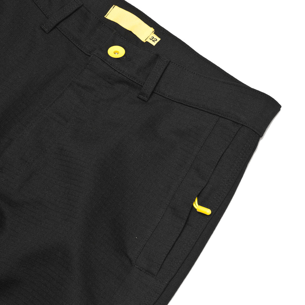 uniforme inc. Work Pant Black at shoplostfound, pocket