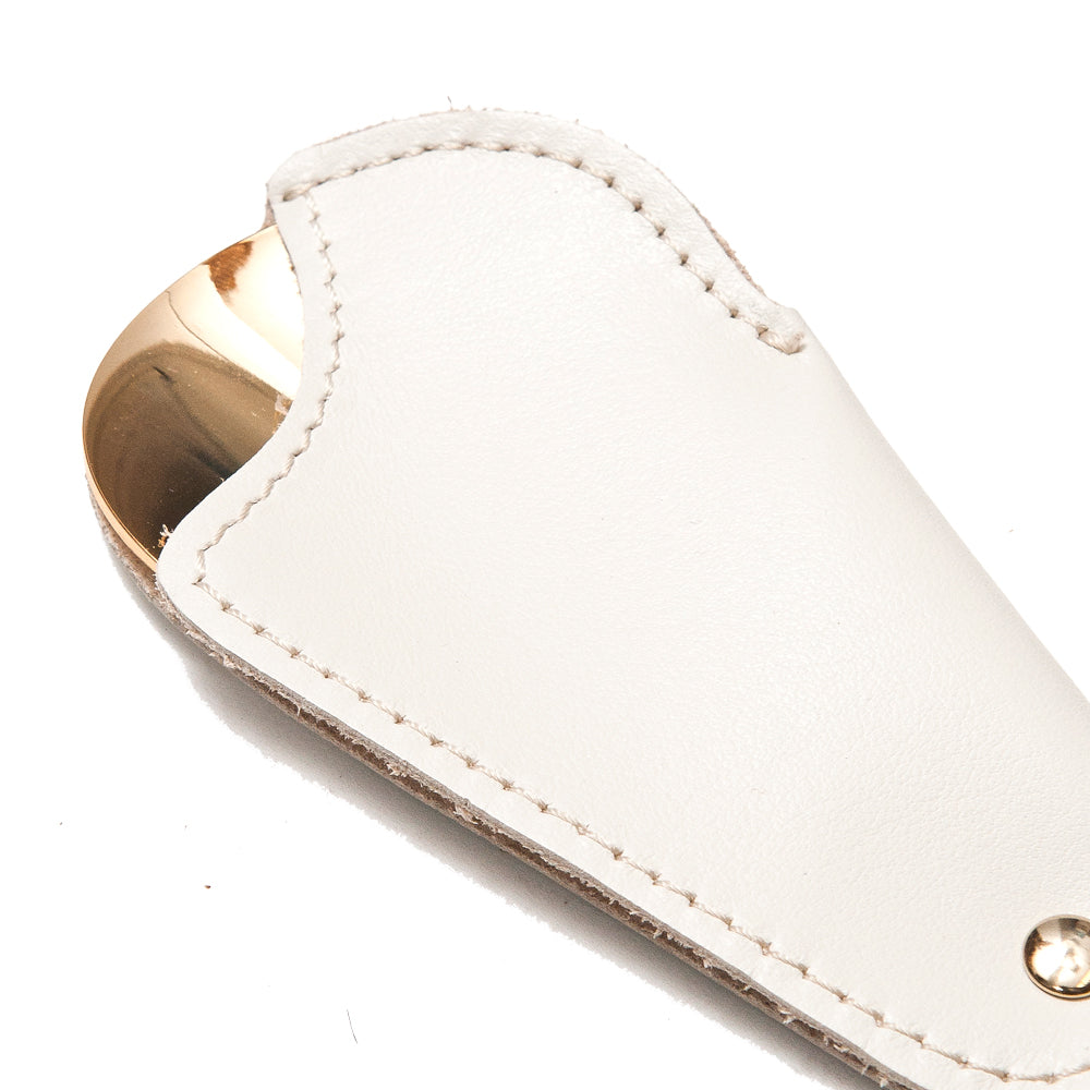 Utile4 Stone Travel Shoehorn at shoplostfound, detail