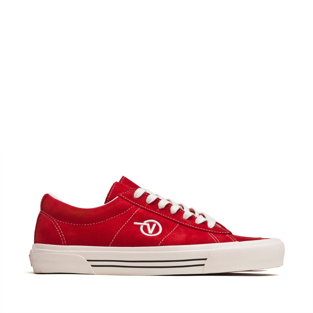 Vans Anaheim Factory Sid DX OG Red Suede at shoplostfound, side