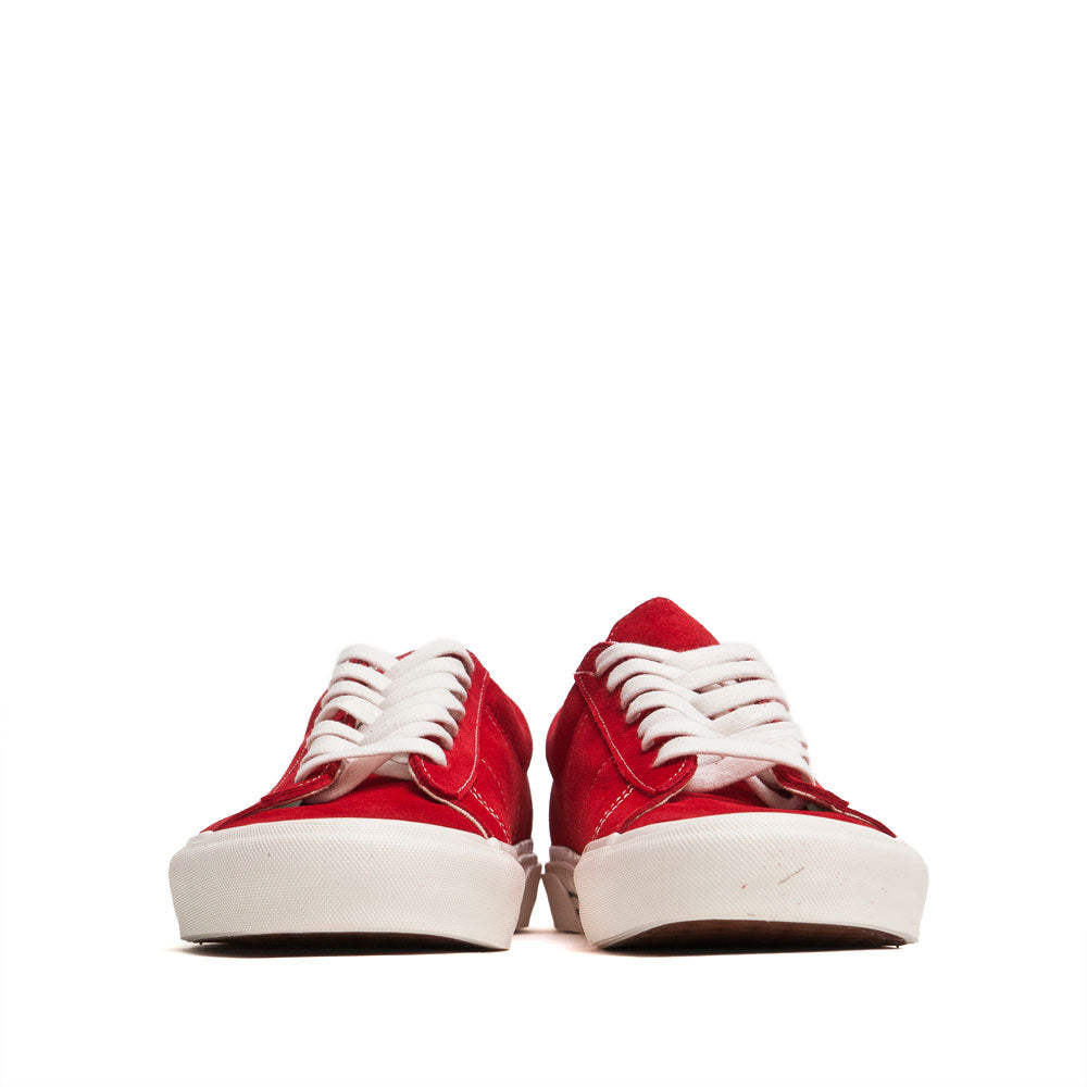 Vans Anaheim Factory Sid DX OG Red Suede at shoplostfound, front