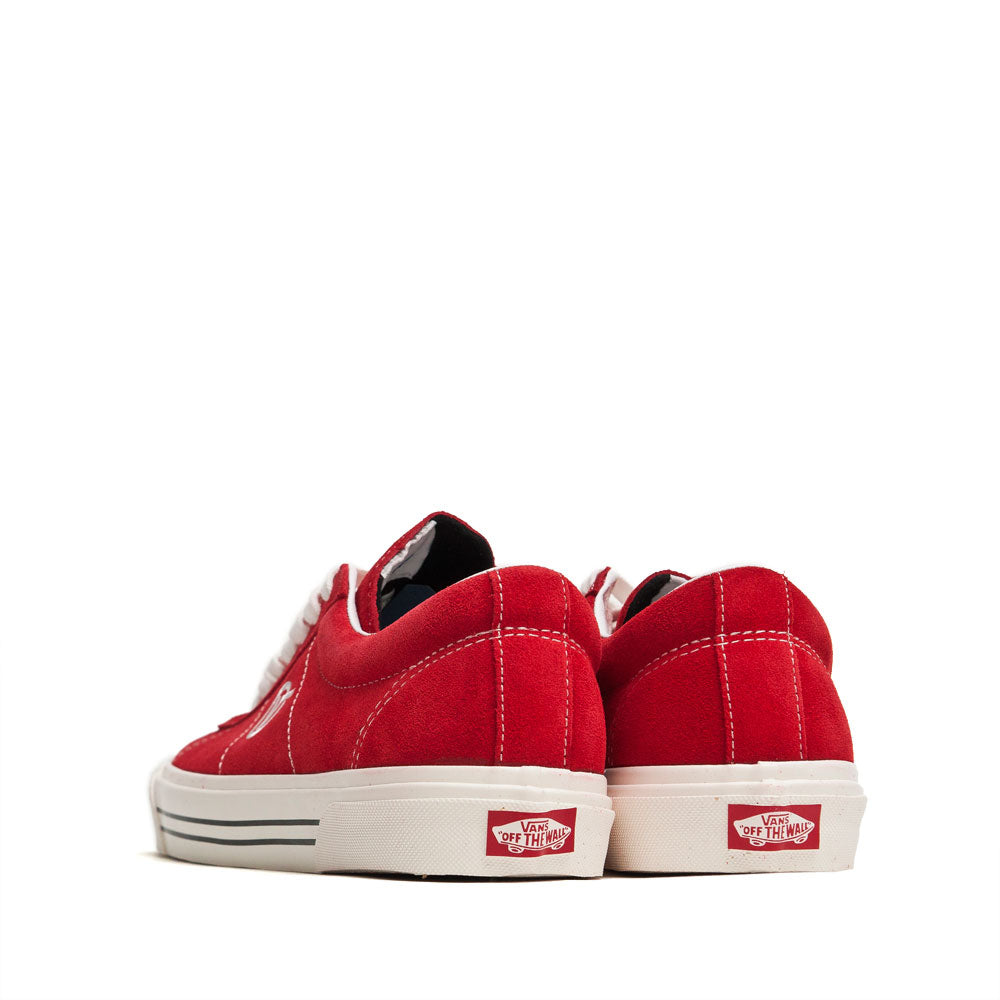 Vans Anaheim Factory Sid DX OG Red Suede at shoplostfound, back