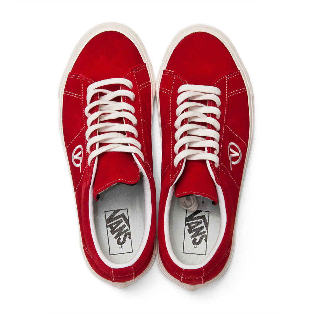 Vans Anaheim Factory Sid DX OG Red Suede at shoplostfound, top