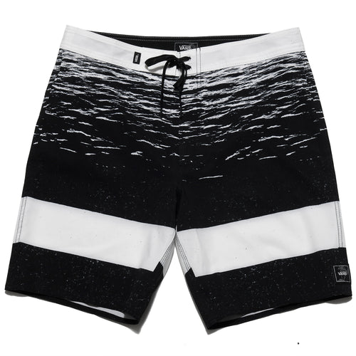 Vans Era 19 Boardshort White Dark Water at shoplostfound, front
